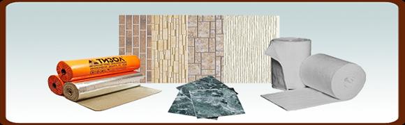 Раздел (плитка декор, огнезащитные панели)